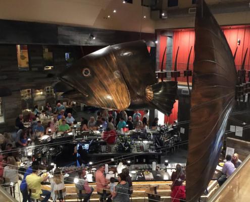 45' Long Copper Fish